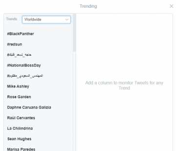 Daphne Caruana Galizia is trending worldwide on Twitter.