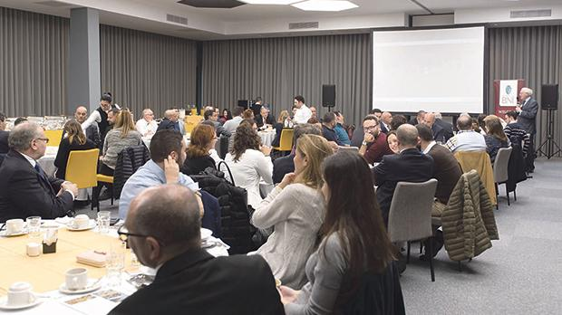 Participants at last year's annual networking event in Malta.