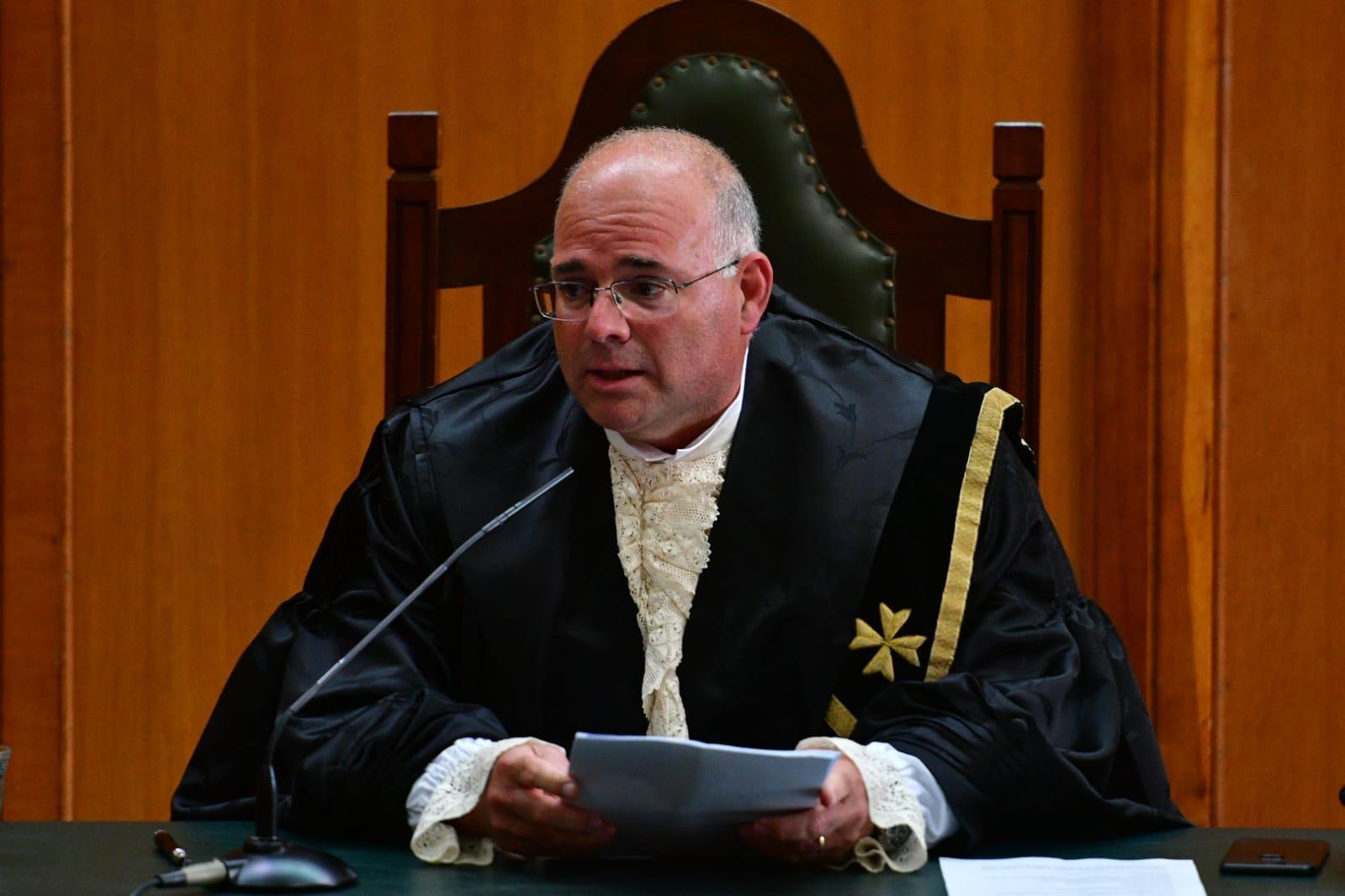 Judge Ian Spiteri Bailey. Photo: Jonathan Borg