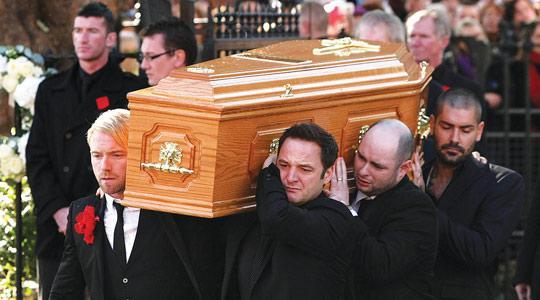 Boyzone pay emotional tribute to Stephen Gately