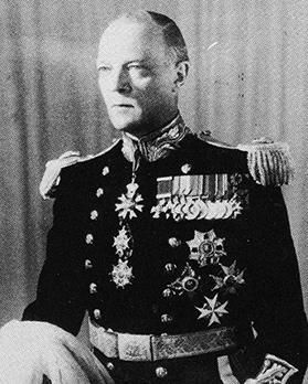 Governor Sir Robert Laycock.