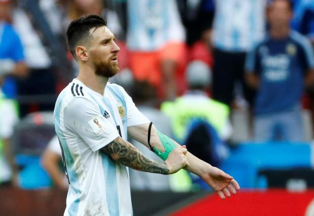 Lionel Messi's hopes of winning the World Cup were ended by France on Saturday.