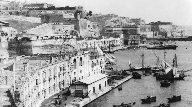 Pinto and Lascaris wharves, site of Valletta Waterfront/Cruise Port.
