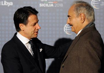 Libya rivals arrive for Italy summit after December election shelved