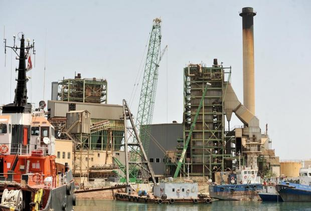 A section of the old Marsa power station on July 6. Photo: Chris Sant Fournier