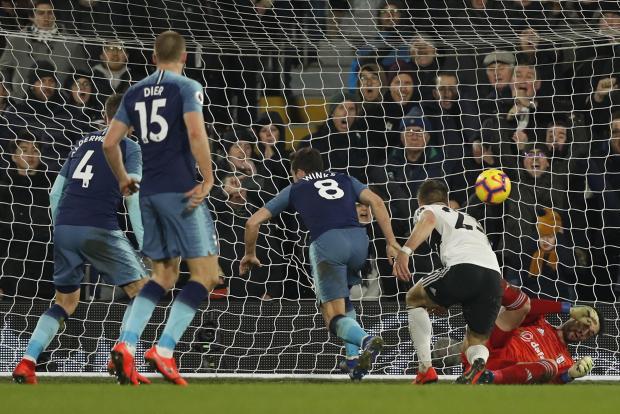 Harry Winks scored the winner for Tottenham Hotspur against Fulham.