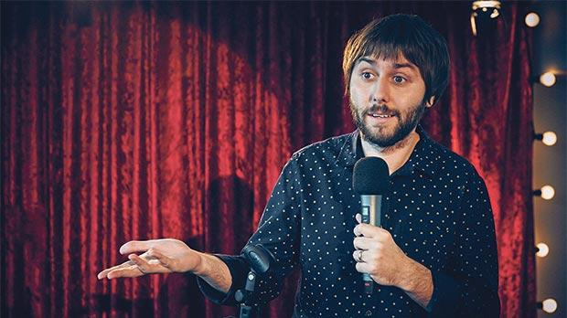 James Buckley in The Comedian's Guide to Survival.