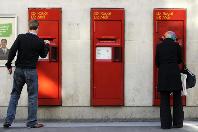 Royal Mail parcels revenue overtakes letters on pandemic