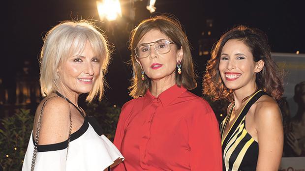 Nolene Miggiani, Carina Camilleri and Caroline Paris.