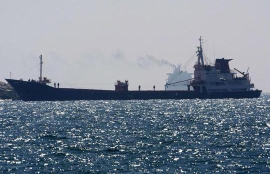 Israeli troops on the ship which was attacked this morning.