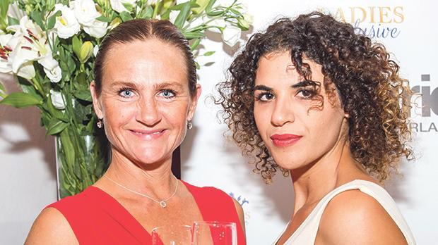 Anneli Nilsson with Natasha Buttigieg, co-owner of Truffle & Truffles.