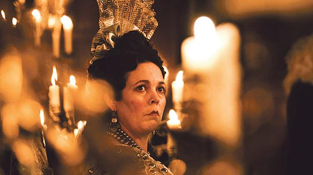 Olivia Colman delivers an award-winning performance in The Favourite.