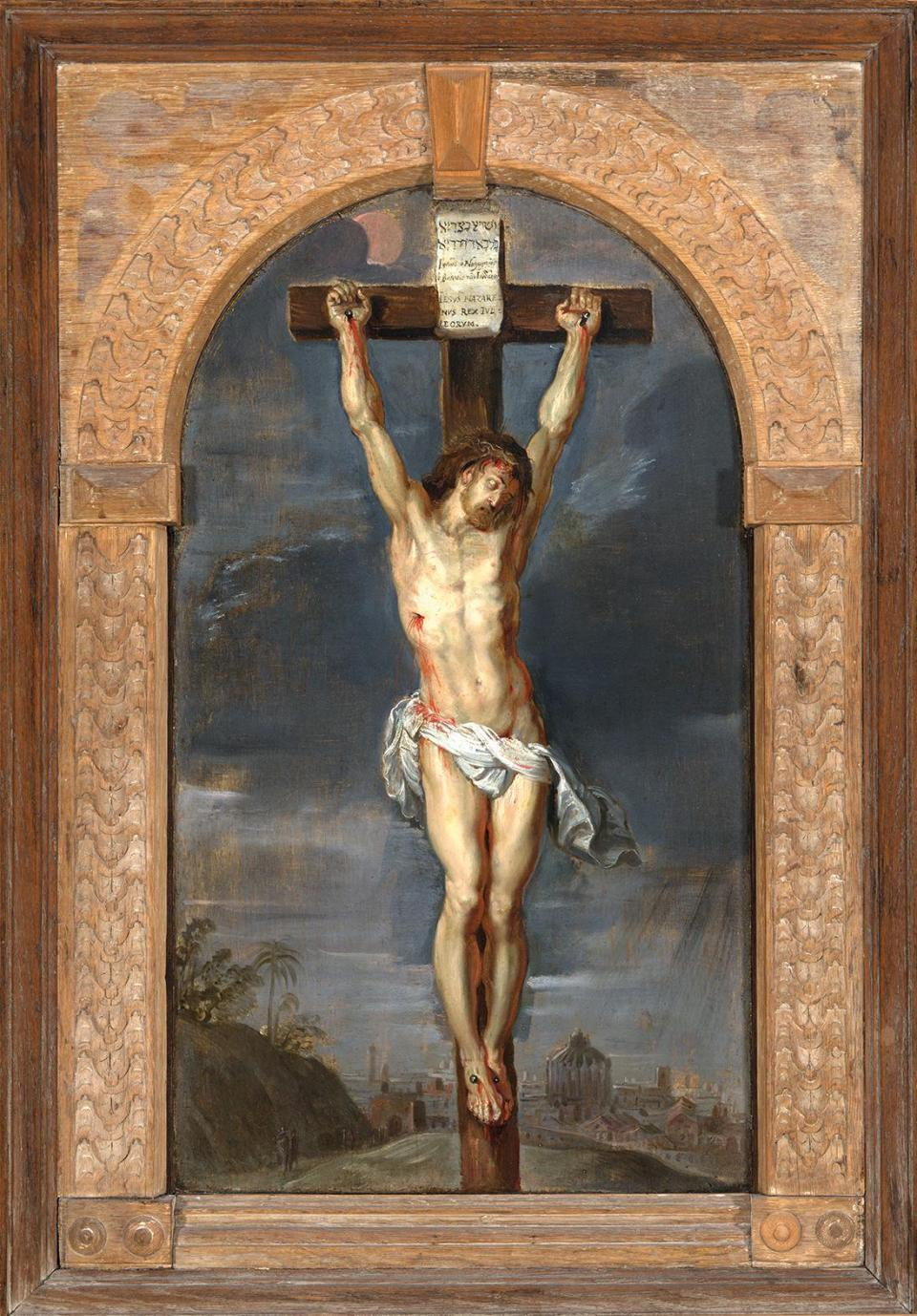 Crucifixion by Peter Paul Rubens and workshop