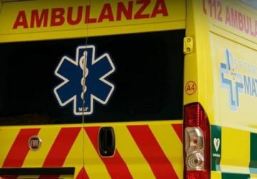 Young man critical after falling in field