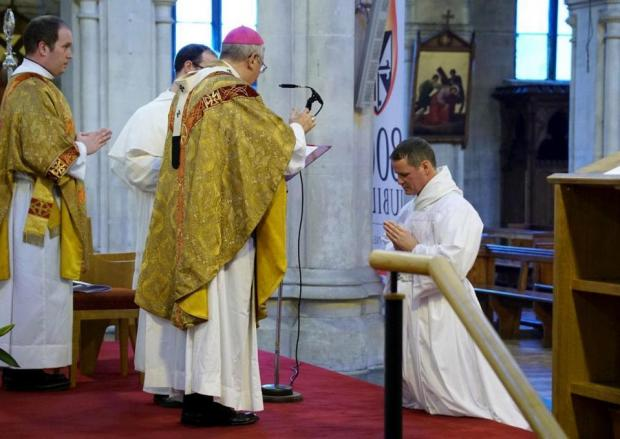 Former Manchester United player becomes a priest in Dublin