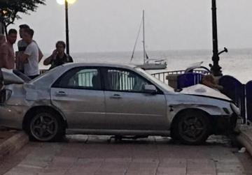 Driver in St Julian's promenade crash fled accident scene, court told