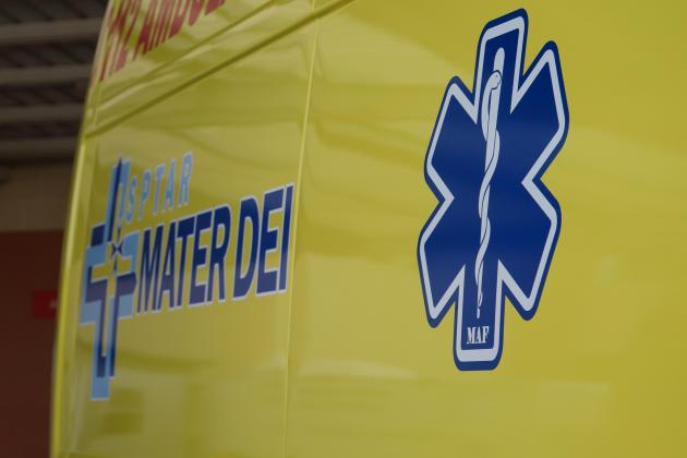 Motorcyclist hospitalised after Paola collision