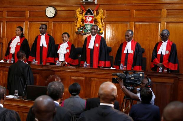 Billedresultat for Kenyan Supreme Court