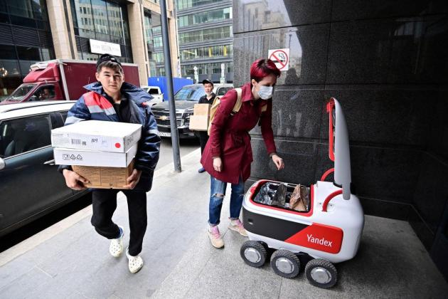 Russia's Yandex launches UK grocery delivery service