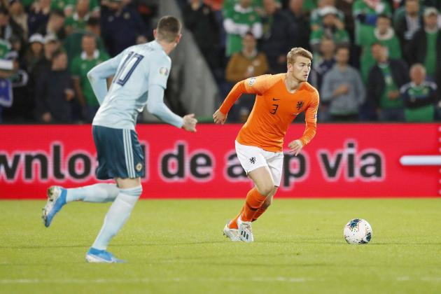 Injured duo De Ligt, Depay included in Dutch squad