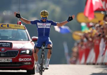 Watch: Alaphilippe climbs his way to stage 10 win at Tour de France