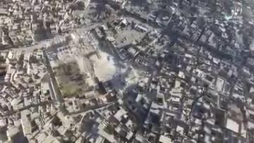 Islamic State publish video of destroyed historic mosque