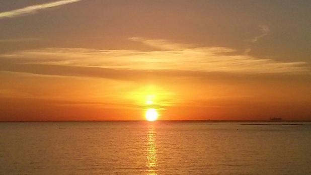 Sunrise as seen from Qawra. Photo: Natasha Zarb