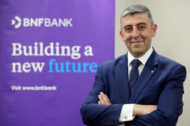 George Debono appointed chief commercial officer of BNF Bank