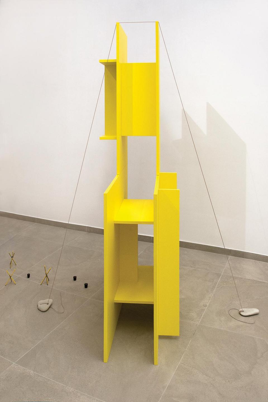 Coffee tables going up by Tom Van Malderen