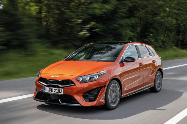 Kia Ceed range gets new look and updated interior for 2021