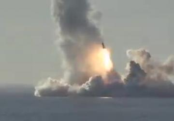 Watch: Russia tests multiple launches of intercontinental missiles from submarine