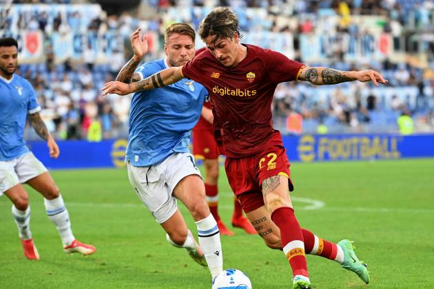 Lazio squeeze past Roma in derby victory, Dybala woe for Juventus