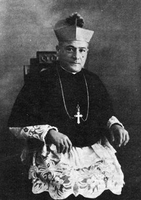 Archbishop of Malta Dom Mauro Caruana, who in 1917 issued a ban prohibiting MUSEUM members from studying the Bible. The prohibition was later lifted.