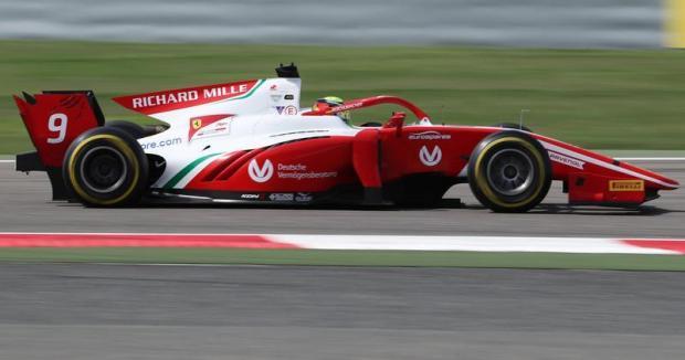 Mick Schumacher Sixth In Bahrain F2 Race