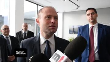 Watch: 'Gafà is doing very good work' - Muscat  | Dr Muscat speaking on Tuesday morning. Video: Jonathan Borg