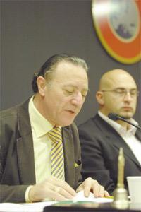 Malta FA president Joe Mifsud.