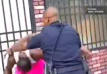 Watch: Baltimore police beating video goes viral, officer resigns