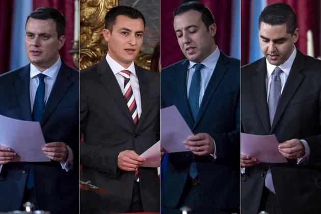 Robert Abela's ministerial team is youngest in recent history