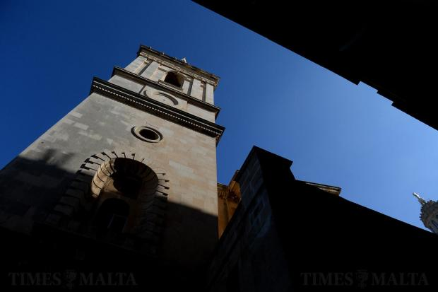 St Paul's Anglican Pro-Cathedral one of the most iconic features of the Valletta skyline as seen on January 31, launches an urgent fundraising appeal for vital restoration work, as parts of the historic church are declared unstable. Photo: Matthew Mirabelli