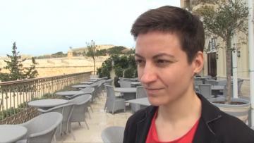 "Extreme weather bringing ""shift of  awareness"" – Greens lead candidate  | Video: Mark Zammit Cordina"