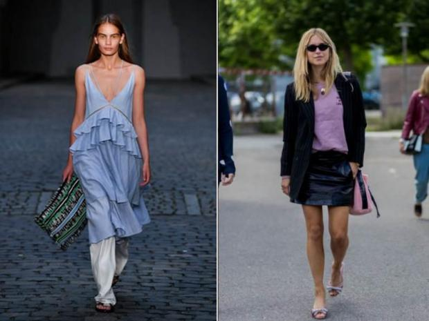 Lala Berlin (left) and Pernille Teisbaek (right).