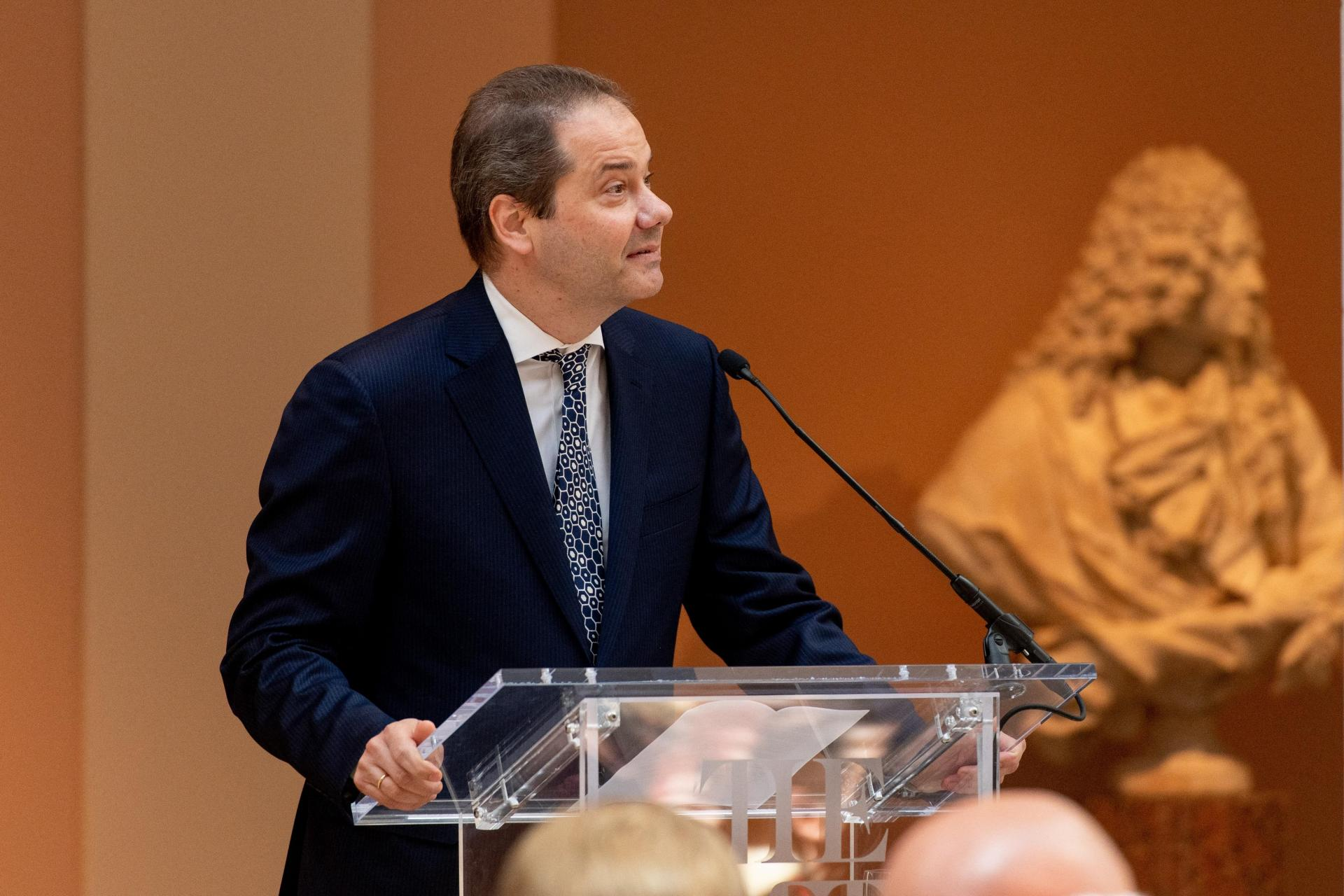 Director of the Metropolitan Museum of Art, Max Hollein. Photo: Roy Rochlin/Getty Images North America/Getty Images via AFP