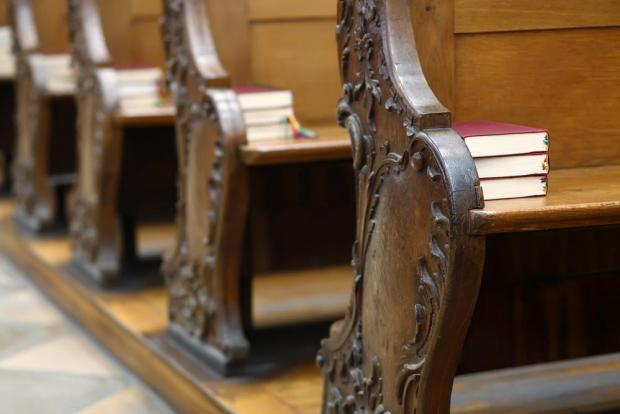 Empty pews have become a far more common sight. Photo: Shutterstock