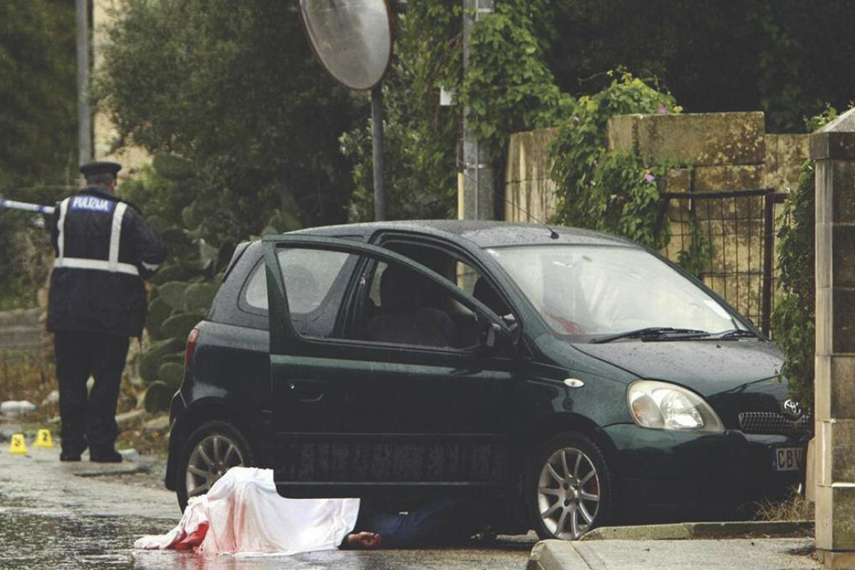 Murder of Joseph Cutajar (il-Lion) in 2012.