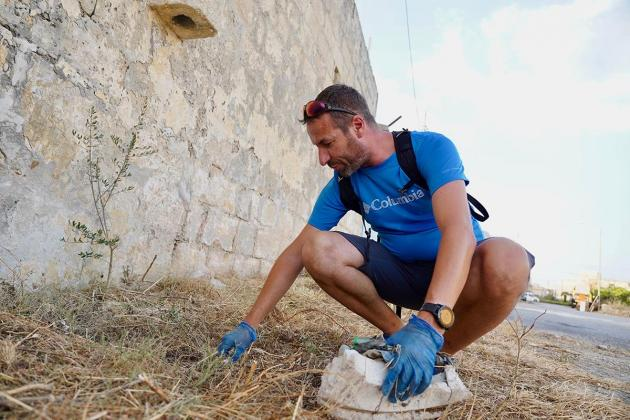 In Żebbuġ, friends build an anti-litter movement one garbage bag at a time