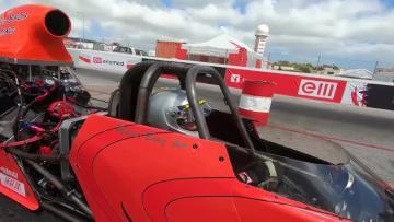Watch: Ħal Far raceway hosts National Dragracing Championships