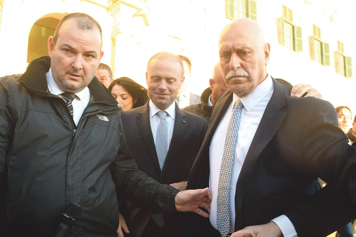 Prime Minister Joseph Muscat has continued to deny any knowledge about who owned 17 Black.