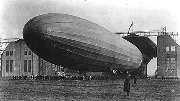 Zeppelin airship LZ 104.