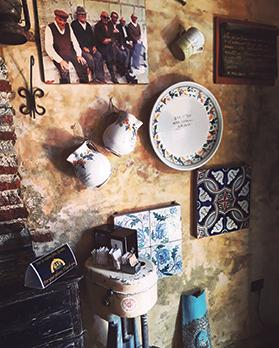 Some of the props used in The Godfather are found in Bar Vitelli.