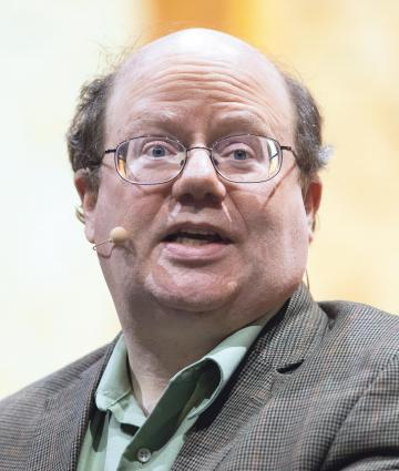 Wikipedia co-founder Larry Sanger. Photo: AFP